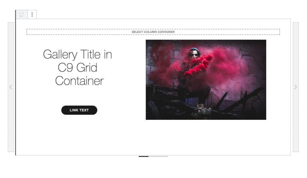 Owl carousel slider from Bootstrap in WordPress Gutenberg Block Form